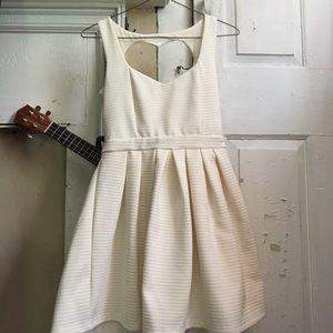 Poof Couture Heart shape back Dress